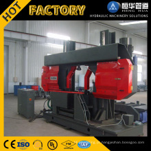 Venda quente Dupla Coluna de Metal Banda Saw Machine